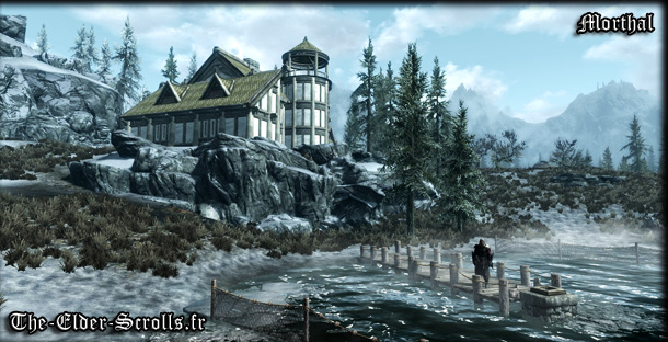 ville de morthal dans skyrim the elder scrolls v sur pc en fran ais armes armures sorts. Black Bedroom Furniture Sets. Home Design Ideas